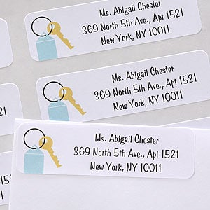 Personalization Mall House Key Personalized Return Address Labels at Sears.com