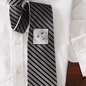 Photo Personalized Striped Ties for Men - 7010