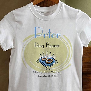Personalization Mall Personalized Ring Bearer T Shirt at Sears.com
