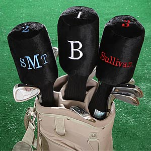 Monogram Personalized Golf Club Cover