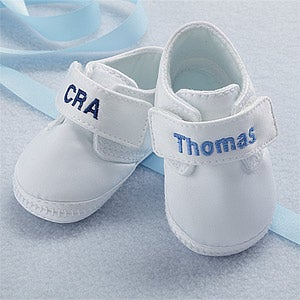 Personalized Oxford Baby Boy Shoes