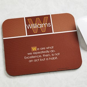 Inspirational Quotes Personalized Mouse Pad - 7072