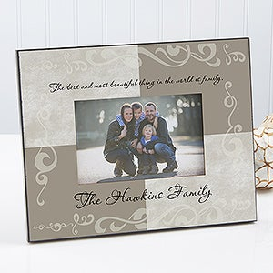 Personalized Picture Frames - Family Name - 7145