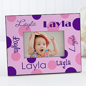 Girls Personalized Picture Frames - That's My Name - 7170