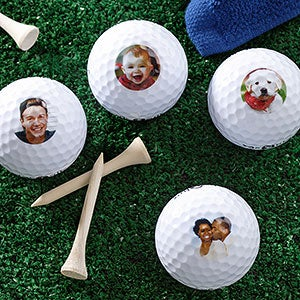 Personalized, Photo Golf Ball Set