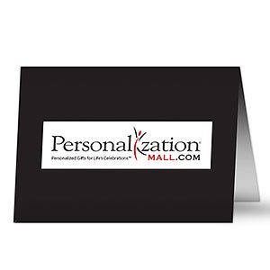 Company Logo Personalized Christmas Cards - 7307