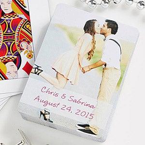 Wedding Favors Deck Custom Playing Cards Bride Groom