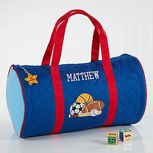 Boys Personalized Sports Duffel Bag & Travel Case - 7348