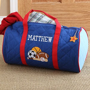 Personalized Kids\\\' Sports Duffel Bags Boys Personalized Sports