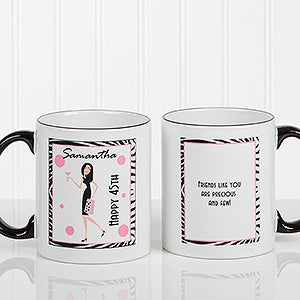 Birthday Girl Personalized Coffee Mug for Women - 7360