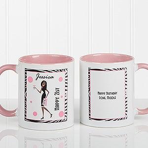 Birthday Girl Personalized Coffee Mug for Women - 7360