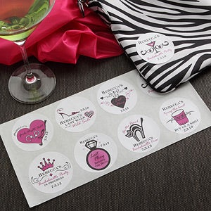 Personalization Mall Personalized Bachelorette Party Stickers at Sears.com