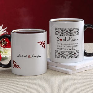 Soul Mates Personalized Photo Coffee Mugs - 7419