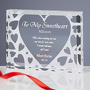 Romantic Personalized Gifts - You're All I Need Keepsake - 7452