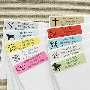 Personalized Address Labels - Create Your Own - 7456