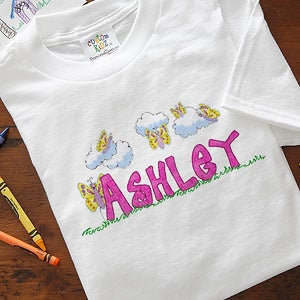 Personalized Butterfly Clothes for Girls - 7460