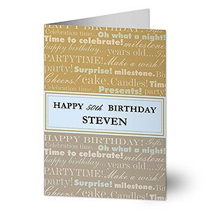 Personalized birthday cards for him personalized birthday cards for him 7487 m4hsunfo