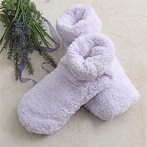 Personalization Mall Aromatherapy Heated Spa Slippers at Sears.com
