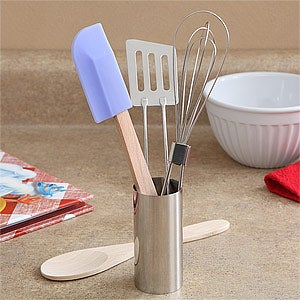 Kids Kitchen Utensil Cooking Set - 5 Piece - 7576