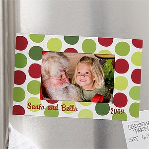 Personalization Mall Personalized Christmas Magnet Frame - Santa & Me at Sears.com