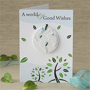 Personalization Mall Flower Seed Plantable Ornament Personalized Christmas Card at Sears.com
