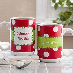 Lenox Personalized Christmas Mugs from Sears.com
