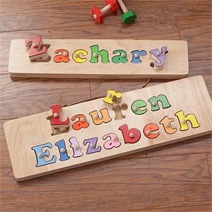 Kids personalized name puzzle board kids personalized name puzzle board 7624 negle Image collections