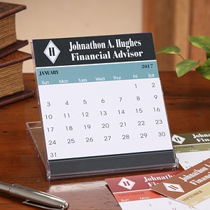 Personalized Executive Desk Calendars - 7636