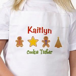 Christmas Cookies Personalized Apron & Potholder - 7646