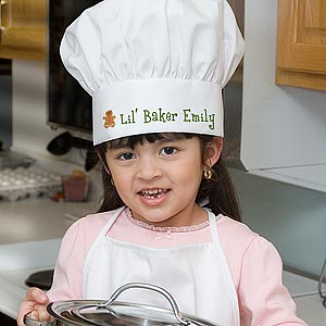 Christmas Cookies Personalized Chef Hat for Kids - 7647