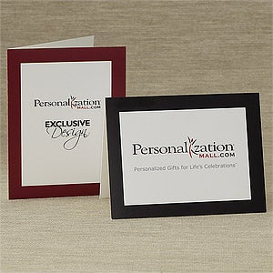 company logo personalized business note cards
