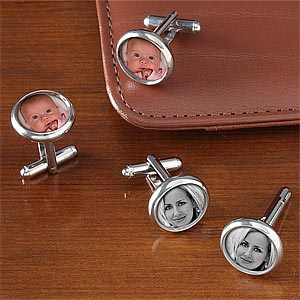 Personalized Photo Cufflinks - 7701D