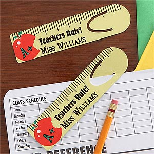 Personalized Bookmarks for Teachers - Teacher's Rule - 7730