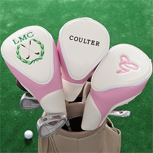 Women's Personalized Golf Club Head Cover - 7731