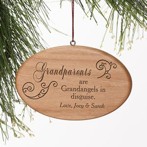 Personalized Grandparents Christmas Ornaments - 7764