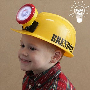 Personalization Mall Personalized Kid's Construction Hard Hat at Sears.com