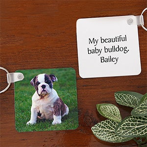 Pet Photo Personalized Key Chains - 7780