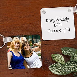 Personalized Photo Key Chains - Best Friends - 7781