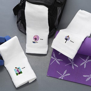 Personalization Mall Mother's Day Gifts -  Personalized Gym Towels - Workout Girl at Sears.com