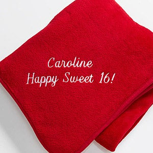 Personalized Fleece Blanket - You Name It - 7810