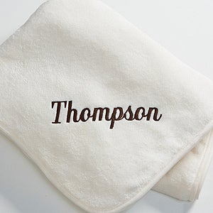 Personalization Mall Custom Name Personalized Fleece Blanket - White at Sears.com