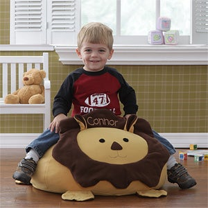 Personalized Lion Bean Bag Chair - 7906