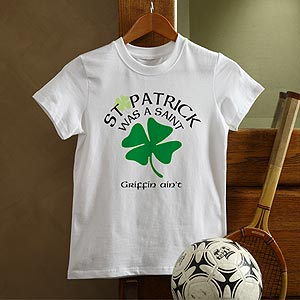 Personalization Mall Personalized St Patrick's Day Kids T-Shirt at Sears.com
