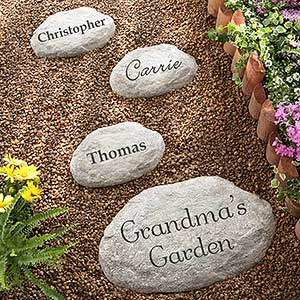 personalized garden stepping stones 7970 - Personalized Garden Stones