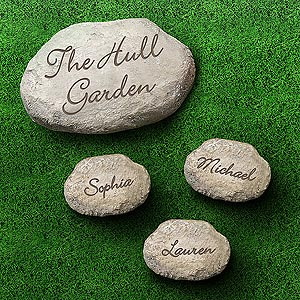 personalized garden stepping stones small ladies gifts