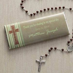 Personalized Candy Bar Wrappers - Holy Day - 7971