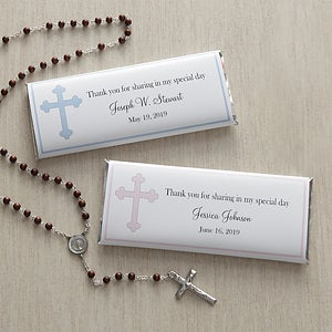 Personalized Candy Bar Wrappers - Holy Cross - 7973