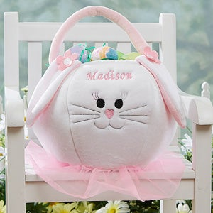 Cute Personalized Easter Basket