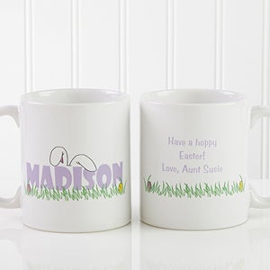 Personalized Easter Mug and Chocolate Eggs - Ears To You - 7976