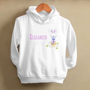 Personalization Mall Personalized Toddler Hoodies - Hopping Easter Bunny at Sears.com
